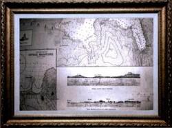 Amvrakikos_Bay_Historical_Nautical_Chart_Issued_1922