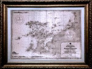 Kidoniai_(Aivali)_&_Moshonisoi_(Ekotonisoi)_Historical_Nautical_Chart_Issued_1922